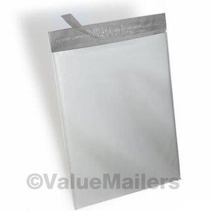 1500 14.5x19 White Poly Mailers Plastic Envelopes Self Sealing Bags 14.5 x 19