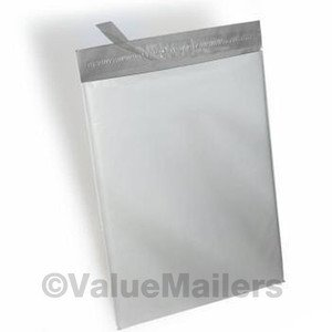 1000 - 24x24 ^ White Poly Mailers Envelopes Self Sealing Bags  - 24 x 24