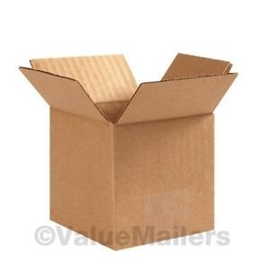 4x4x4 300 Shipping Packing Mailing Moving Boxes Corrugated Carton