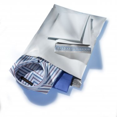 25 EACH 12x15.5 & 14.5x19 POLY MAILERS ENVELOPES BAGS
