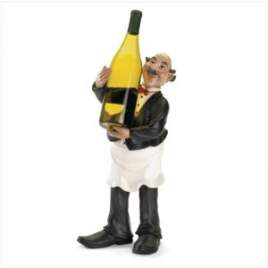 French Waiter Wine Holder - SS37117