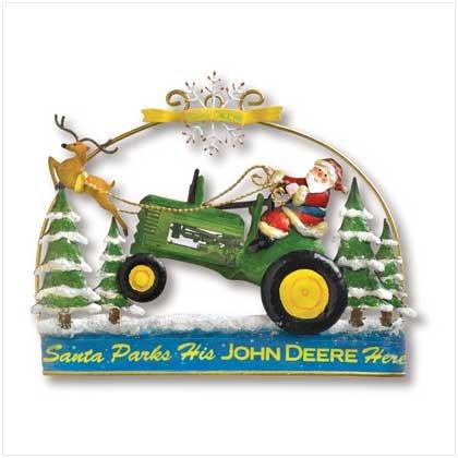 John Deere SAnta Door Hanger - SS38359