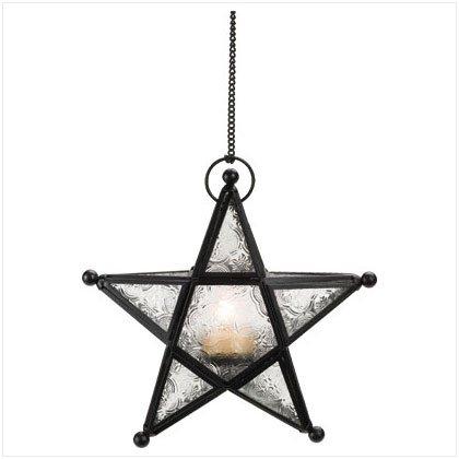 Metal Star Lantern - SS37159