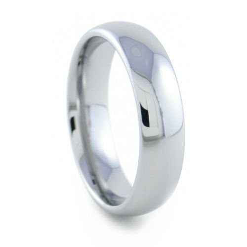 Halo - 6mm Rounded Tungsten Carbide Band