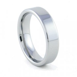 Palisades - 6mm Flat Tungsten Carbide Band