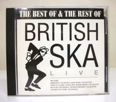 The Best of & Rest of British Ska Live - CD used various artists Action Replay 1993