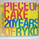 Piece of Cake: 20 years of Ryko comp CD used Frank Zappa Warren Zevon alternative MOJO 2003