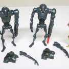 Super Battle Droids Lot of 3 Star Wars loose figures Hasbro