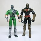 Kamakura & Sand Viper G.I. Joe VvV loose figures Valor vs Venom Cobra gijoe 2004