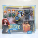 Brave Transforming Triplets figure set bears Disney Pixar Mattel 2011