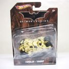 2012 1:50 Camo Tumbler Batmobile Hot Wheels Batman Begins camouflage tan Mattel - warped bubble
