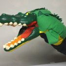 Jodeca AG Puppet Crocodile wooden head Switzerland alligator hand puppet