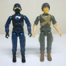 1983 Rock N Roll & Cobra Officer G.I. Joe vintage loose figure lot soldier trooper v1.5 gijoe Hasbro
