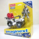 Imaginext Cyborg w/ ATV figure DC Super Friends Justice League Fisher Price TRU Exclusive