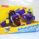 Imaginext Sea Stinger & Mini Plane Target Exclusive purple fighter jet set Fisher Price 2012