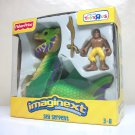 2007 Imaginext Sea Serpent TRU set w/ action figure Toys R Us exclusive Fisher Price