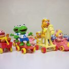Muppet Babies Lot of 9 w. Animal 1986 vintage Canadian McDonalds Happy Meal toys