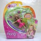 "Winx Club Flora 3.75"" fairy Believix Collection figure doll nickelodeon Jakks Pacific 2012"