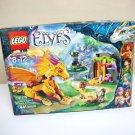 Lego Elves Fire Dragon's Lava Cave set new sealed 41175 441 pc orange dragon fantasy magic 2016