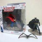 Schleich Superman & Batman + fruit bat pvc figures DC Comics justice league superheroes hand painted