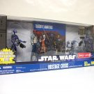 Star Wars Hostage Crisis Clone Wars set animated + DVD Target Exclusive Hasbro 2010