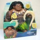 "Disney Moana 16"" Mega Maui talking singing 12 movie phrases Walmart Jakks Pacific 2016"