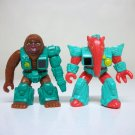 1986 Battle Beasts vintage Orangutan & Anteater figures lot Takara Hasbro
