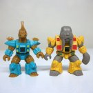 1986 Battle Beasts Seahorse & Walrus vintage figures lot Takara Hasbro