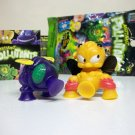 "Mutant Pollutants Lot C 2"" rubber blind foil bag gross out bugs figures Zuru 2013"