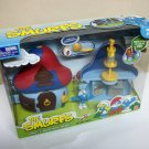 2008 Smurf's Mushroom House playset Smurfs action figures set baker bakery Play Along Jakks Pacific