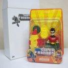 "DC Super Friends Robin 6"" chunky figure batman SDCC comic con exclusive Mattel 2009"