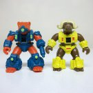1986 Battle Beasts Weasel & Ox lot vintage figures war musky 024 064 Takara Hasbro