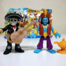 Imaginext Mariachi & Genie blind bag figures lot blue day of the dead series 5 7 Fisher Price