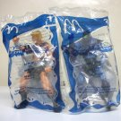 2003 Skeletor & He-Man McDonalds Happy Meal toys #1 & #2 lot Masters of the Universe motu