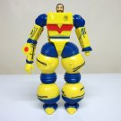 1986 Inhumanoids vintage Liquidator figure yellow mech suit backpack earth corps Hasbro