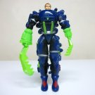 1986 Inhumanoids vintage Dr Derek Bright figure blue mech suit claws earth corps Hasbro