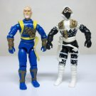 1992 Shang Tsung & Storm Shadow lot G.I. Joe Mortal Kombat loose figures cobra gijoe
