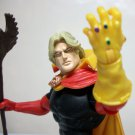 Adam Warlock Marvel Legends red hulk series loose figure target excl infinity gauntlet Hasbro 2008