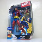 "Marvel Universe Goliath & Iron Man set red costume variant WalMart 16"" Giant Man avengers 2009"