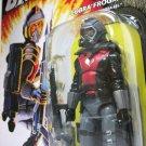 G.I. Joe Cobra Eel 25th Anniv. Frogman figure gijoe arah anniversary diver Hasbro 2008