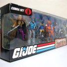 G.I. Joe Defense of Cobra Island 6-pack set 25th Anniv. figure gijoe arah anniversary Hasbro 2009