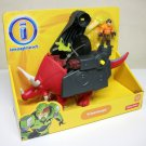 Triceratops Build a Robot Imaginext Dinosaur Series red #BFT44 Fisher Price 2014