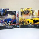 Transformers The Last Knight Lot of 2 Optimus Prime & Bumblebee 1 step changers semi camaro 2017