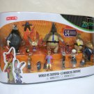 World of Zootopia 14 character set large Target Exclusive nick judy Tomy 2016
