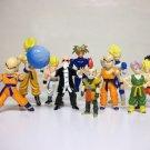 Dragon Ball Z Lot of 11 figures Krillin Goku Roshi Minosha loose dragonball Irwin Toys