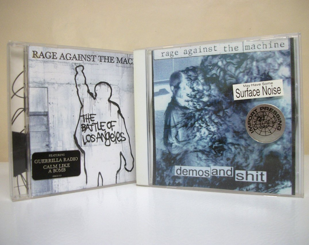 Rage Against the Machine CD lot The Battle of Los Angeles ...
