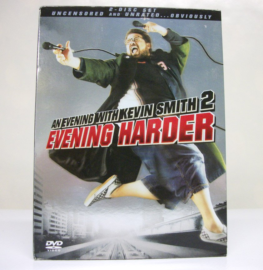 Evening w/ Kevin Smith 2: Evening Harder DVD an Unrated 2-disc director comedy special set 2006