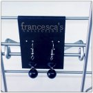Francesca's collections black earring
