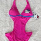 Hot Topic Hello Kitty Cut Out Bathing Suit
