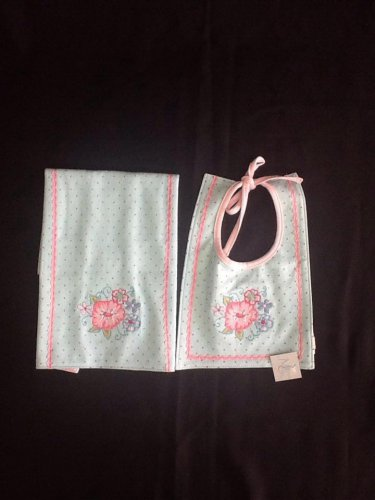 Madison Chic 2-Pc. Gift Set Burp Cloth & Bib